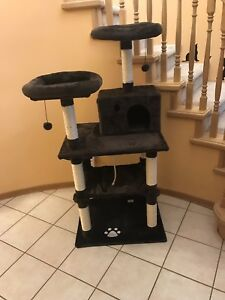 Brand new. Cat tree house.  Scratching post.