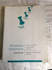 Business statistics textbook Logan Central Logan Area Preview