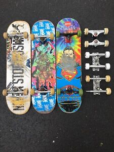 Skateboards and parts