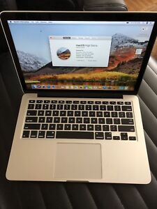 Macbook Pro 13, 3.0ghz i7 cpu - 16gb ram - 512GB (2014)
