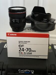 Canon 24-70 f4; 10-22; hoya nd8 77mm