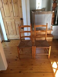 Antique Farm Chairs