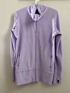 Lululemon 'In Stride' zip up (size 10)