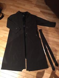 London Fog 2 in 1, all season full length dress coat