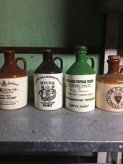 Glasses  port jugs