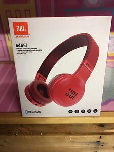 JBL E45bt Bluetooth casque sans fil (Rouge)