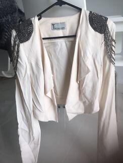 Fur vests & beaded jacket