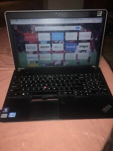 Lenovo Edge ThinkPad e530 15.6 pouces 1TB (negociable)