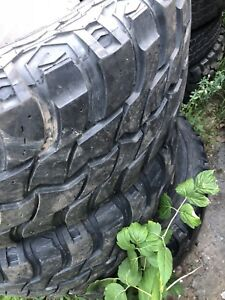 """35"""" tires mud trail digger used"""