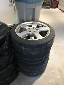 "Fast Wheels 18"" 5x114.3 + Winter Tires"