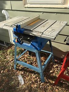 "Master craft 10"" table saw"