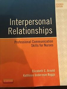 Humber Nursing - Interpersonal Relationships NURS 1032