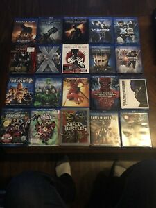 Superhero Blu-ray collection