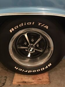 Wheels and Tires off a 1969 Chevelle