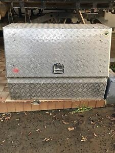 Tip Top Equipment Toolbox - Perfect for a ute or 4X4 4WD Work Campbelltown Campbelltown Area Preview