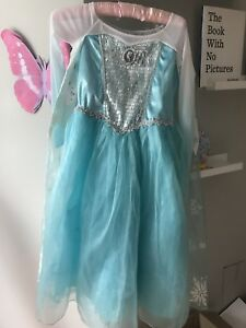 Robe costume déguisement Disney Elsa Reine des Neiges Halloween