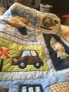 Boy crib bedding set