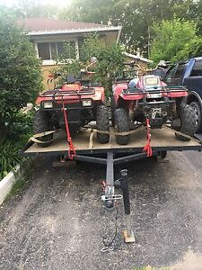 2ATVS and trailer