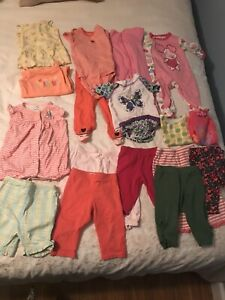 HUGE Lot of Baby Girl Clothes: 80 pieces for $50 (6 -12 months)
