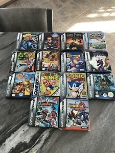 Lots jeux gameboy