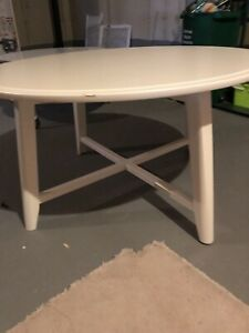 Coffee table 35 inch diameter