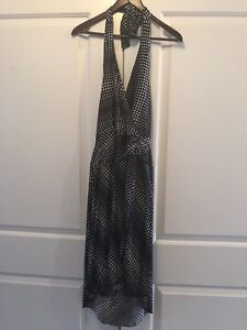 Le Chateau halter dress NWT size small