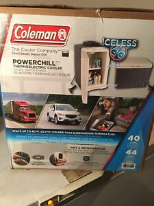 BrAnd new Coleman powerchill portable electric cooler