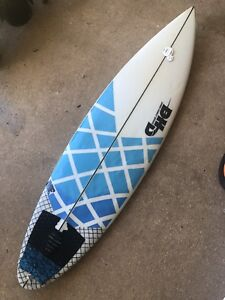 DHD 5'11 ducks nuts Mick Fanning surfboard