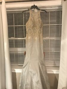 Silver prom dress Size 0/2