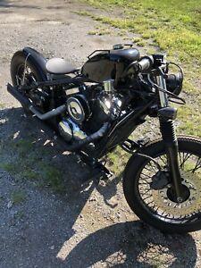Bobber moto