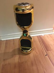 Gold Bluetooth HoverBoard