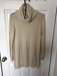 Theory cashmere turtleneck tunic small