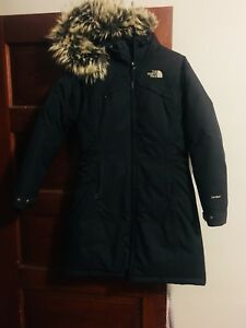 North Face parka size XS