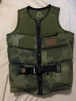 Life jacket wakeboard