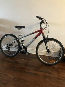 "Mountain bike RALEIGH 24"" wheels"