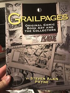 Grail Pages Original Comic book art / Collectors TP