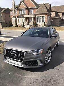 2012 Audi A6 3.0T Quattro Premium Plus RS6 Body