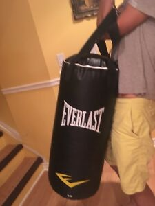 Everlast suspended punching bag - fantastic quality