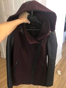 Manteau MACKAGE en laine PRESQUE NEUF 320$ XS
