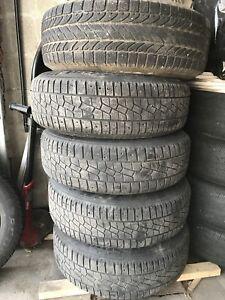 5 pneus d'hiver nissan x terra