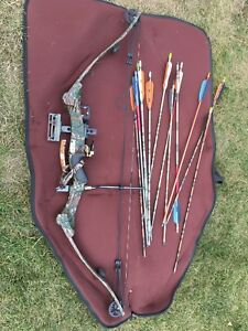 Complete archery set up
