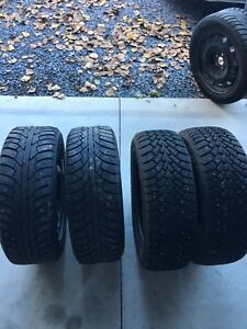 SOLD Studded Winter Tires