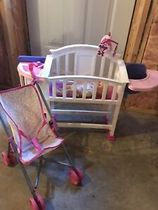 Baby bed/kitchen set