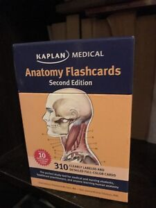 KAPLAN MEDICAL Anatomy Flashcards 2nd Edition