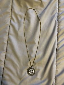 10K Gold Franco Chain With Pendant