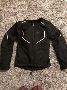 Woman's ICON Motorcycle Jacket XS