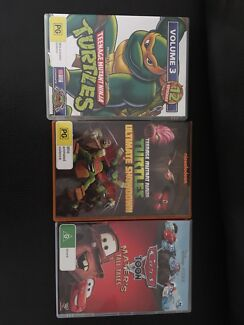 TMNT and Mater's Tales DVD's