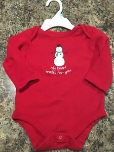 ~Sparkly My Heart Melts For You Onesie, size 3-6 Months - $5~