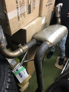 ML 500,550 and 55 GOOD CONDITION AMG EXHAUST  ORIGINAL