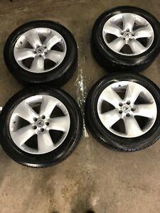 Acura MDX, RDX all season OEM set 235/55/18